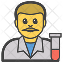 Male Man Researcher Icon