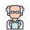 Professor Scientist Doctor Icon