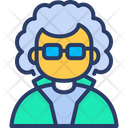 Doctor Professor Scientist Icon