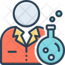 Scientist Chemist Pharmaceutical Icon