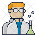 Scientist Labotatory Scientific Icon