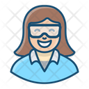Scientist Researcher Experimenter Icon