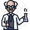 Scientist Teacher Physician Icon