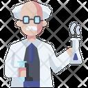 Scientist Teacher Physician Icon