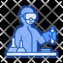 Scientist Science Research Icon