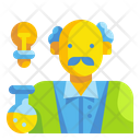 Scientist Doctor Technician Icon