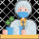 Scientist Laboratory Chemistry Icon