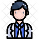 Scientist Research Doctor Icon