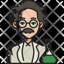 Scientist Research Laboratory Icon