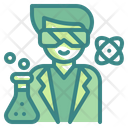 Scientist Lab People Icon
