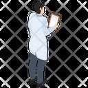 Report Lab Experiment Laboratory Test Icon