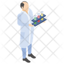 Test Tubes Scientific Laboratory Lab Experiment Icon