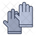 Gloves Hand Gloves Scientist Gloves Icon