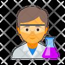 Chemist Chemistry Laborant Icon