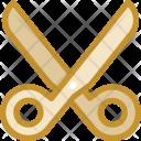 Scissor Cut Stationary Icon