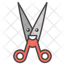 Scissor Face Shear Cutting Tool Icon