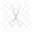 Scissor Stationary Tool Cutting Tool Icon