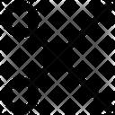 Scissor Cut Tool Icon