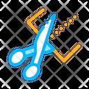 Cut Tool Design Icon