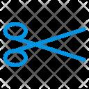 Scissor Coupon Cut Icon