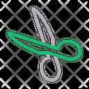 Scissor Cut Coupon Icon