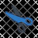 Scissor Cut Diy Icon