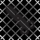 Scissor Cut Operation Icon
