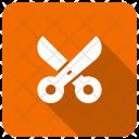 Scissor Discount Coupon Icon