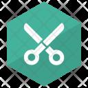 Scissor Cut Barber Icon