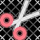 Scissor Cut Cutting Icon