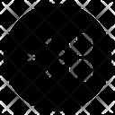 Cut Sale Black Icon