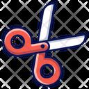 Scissor Cut Sewing Icon