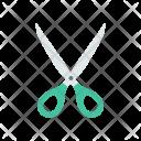 Scissor Cut Cutter Icon