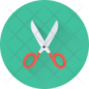 Scissor Cutting Tool Icon