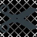 Scissor Cut Scissors Icon