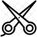 Scissor Trimming Cutting Icon