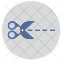 Erase Scissor Montage Icon