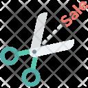 Sale Offer Scissor Icon