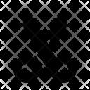 Scissor Cut Trim Icon