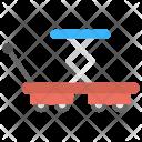 Scissor Hand Cart Icon