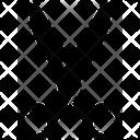 Scissor Metal Icon
