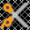 Crop Cut Scissors Icon