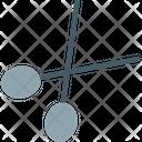 Scissors Medical Equipment Cutter Icon