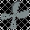 Scissors Spring Tool Icon