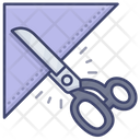 Tailor Cut Cutting Icon