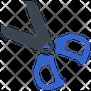 Crop Cut Scissor Icon