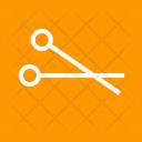 Scissors Cut Trim Icon