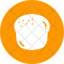 Scone Bagel Bread Icon