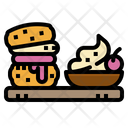 Scone Tasty English Icon