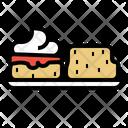 Scones Bakery Bake Icon